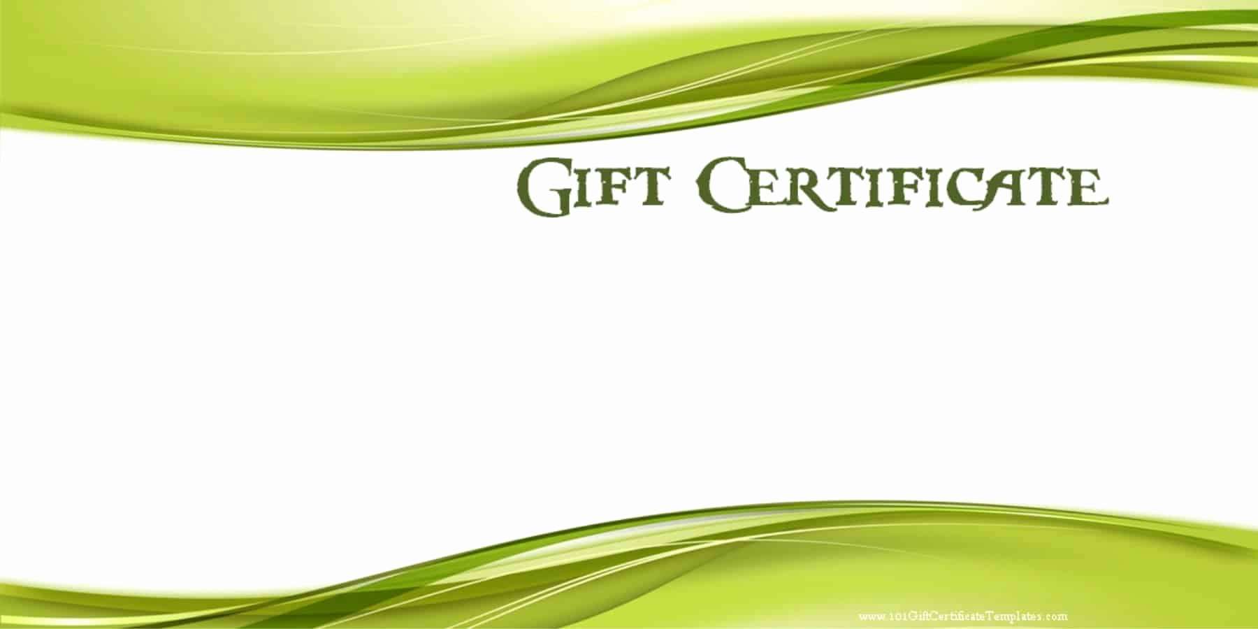 Golf Gift Certificate Template Beautiful Printable Gift Certificate Templates