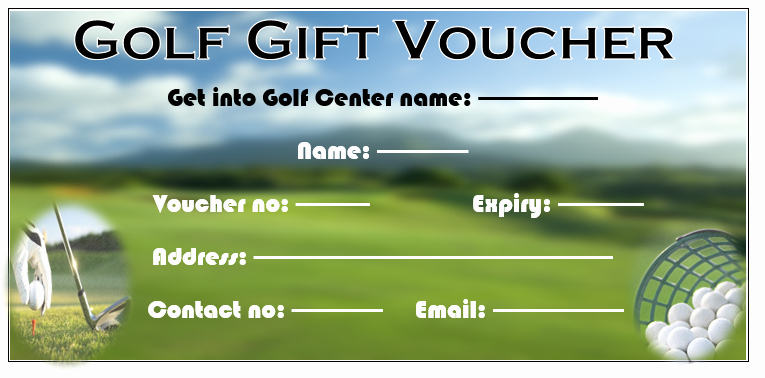 Golf Gift Certificate Template Free Elegant 11 Free Gift Voucher Templates – Word Templates for Free