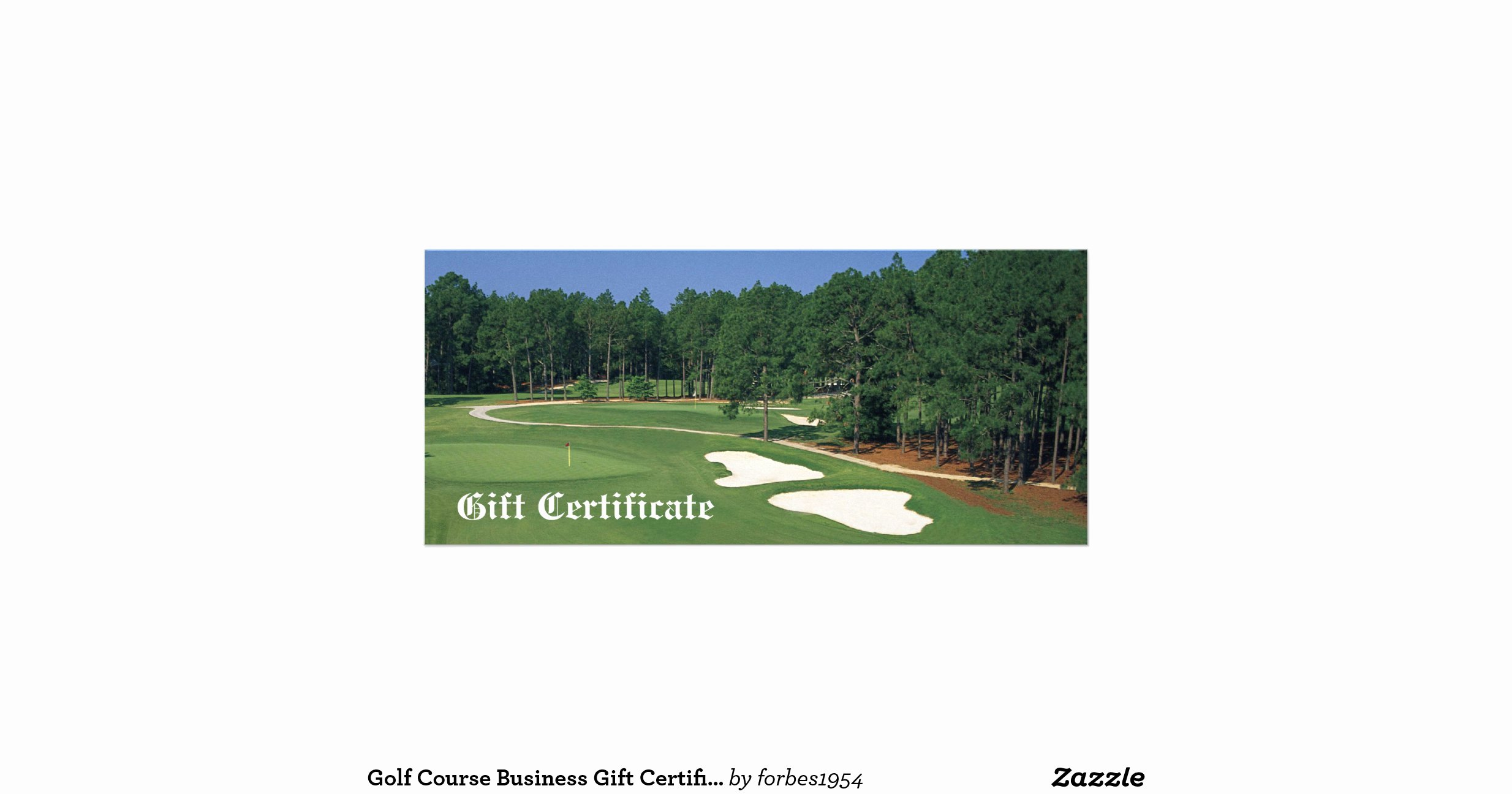 Golf Gift Certificate Template Fresh Golf Course Business Gift Certificate Rack Card Template