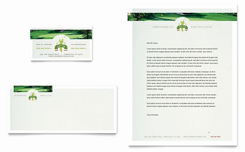 Golf Lesson Gift Certificate Template Beautiful Golf Course & Instructor