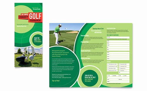 Golf Lesson Gift Certificate Template Beautiful Golf tournament Business Card & Letterhead Template Design
