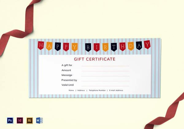 Golf Lesson Gift Certificate Template Inspirational 20 Birthday Gift Certificate Templates Free Sample