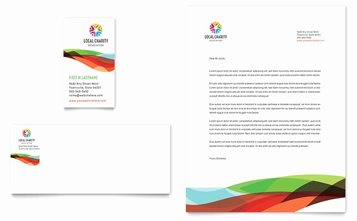 Golf Lesson Gift Certificate Template New Charity Golf event Business Card & Letterhead Template Design
