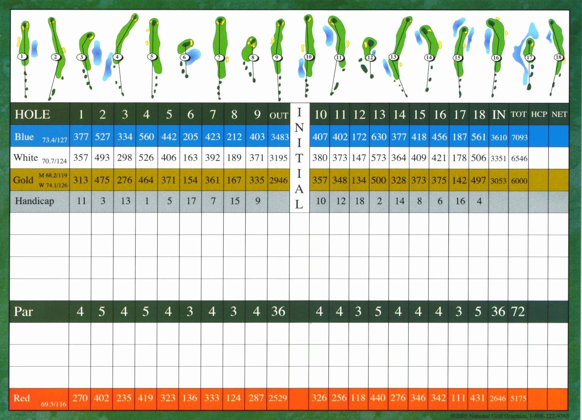 Golf Scorecard Template Word Beautiful Usa Golf Scorecards