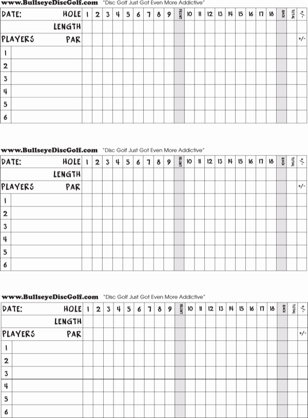 Golf Scorecard Template Word Inspirational Download Blank Golf Score Card for Free formtemplate