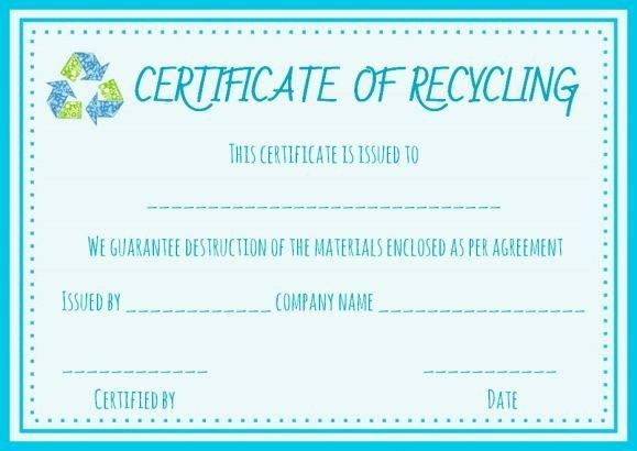 Good Samaritan Award Certificates Fresh Certificate Of Destruction Hard Drive Template
