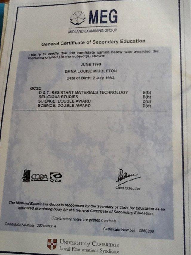 Good Samaritan Award Certificates New Certificates – Gcse