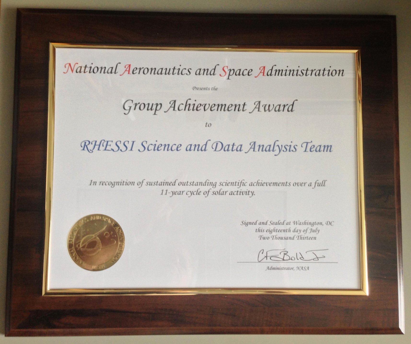 Good Samaritan Award Certificates New News