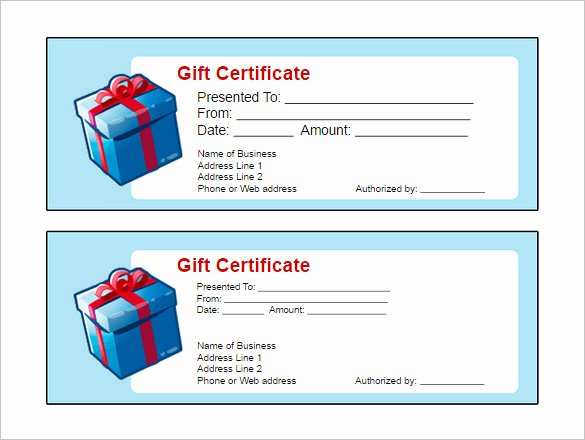 Google Doc Certificate Template Best Of Gift Certificate Template Google Docs