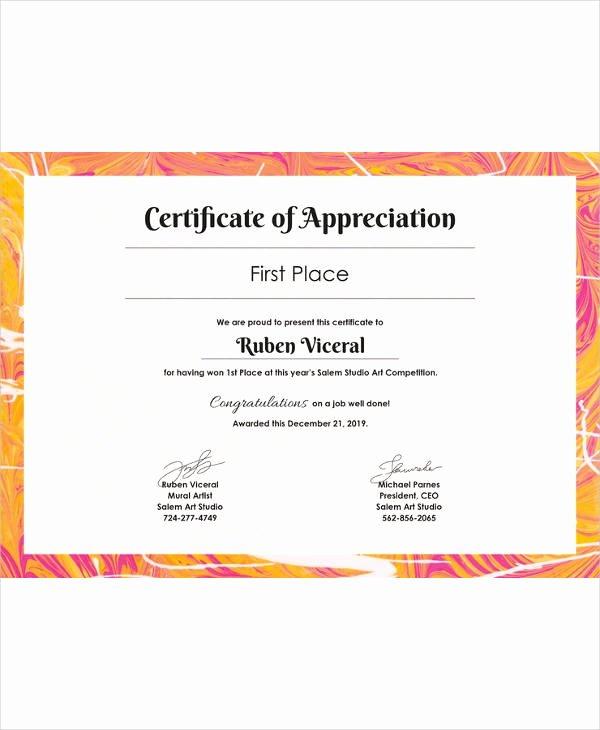 Google Doc Certificate Template Elegant Certificate Template 45 Free Printable Word Excel Pdf