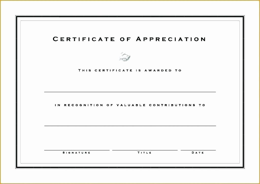 Google Docs Certificate Of Appreciation Fresh Google Doc Certificate Template
