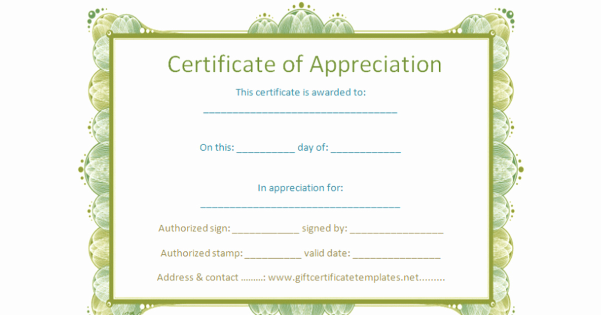 Google Docs Certificate Of Appreciation Unique Certificate Template Google Docs – Printable Receipt Template