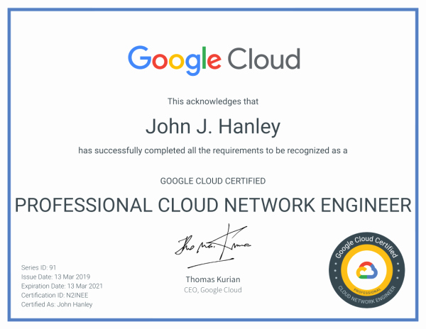 Google Docs Certificate Of Completion Awesome Certifications John Hanley