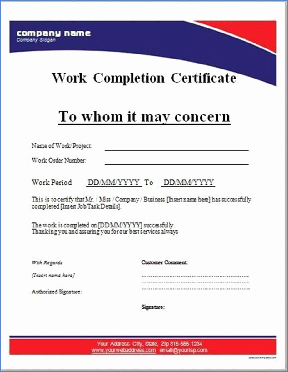 Google Docs Certificate Of Completion Elegant Free Printable Certificate Pletion 1313