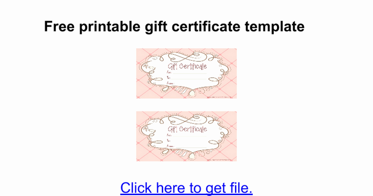 Google Docs Certificate Template Best Of Gift Certificate Template Google Docs – Planner Template Free