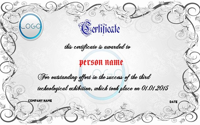 Google Docs Certificate Template Inspirational Free Certificate Maker