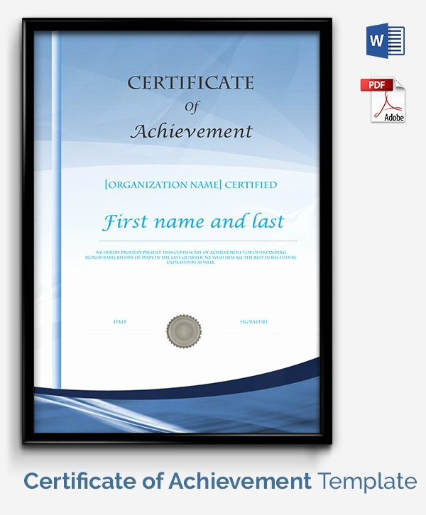 Google Docs Certificate Template Luxury Certificate Template 50 Free Printable Word Excel Pdf