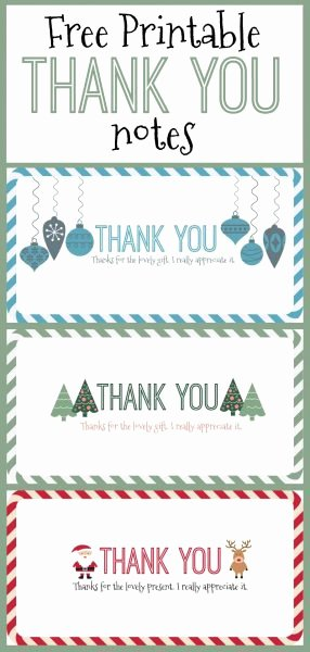 Google Docs Note Card Template Inspirational Free Printable Christmas Thank You Notes – Here E the Girls