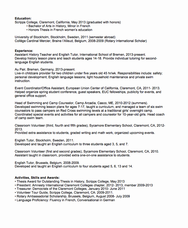 Graduated with Honors On Resume Lovely Sample English Tutor Resume