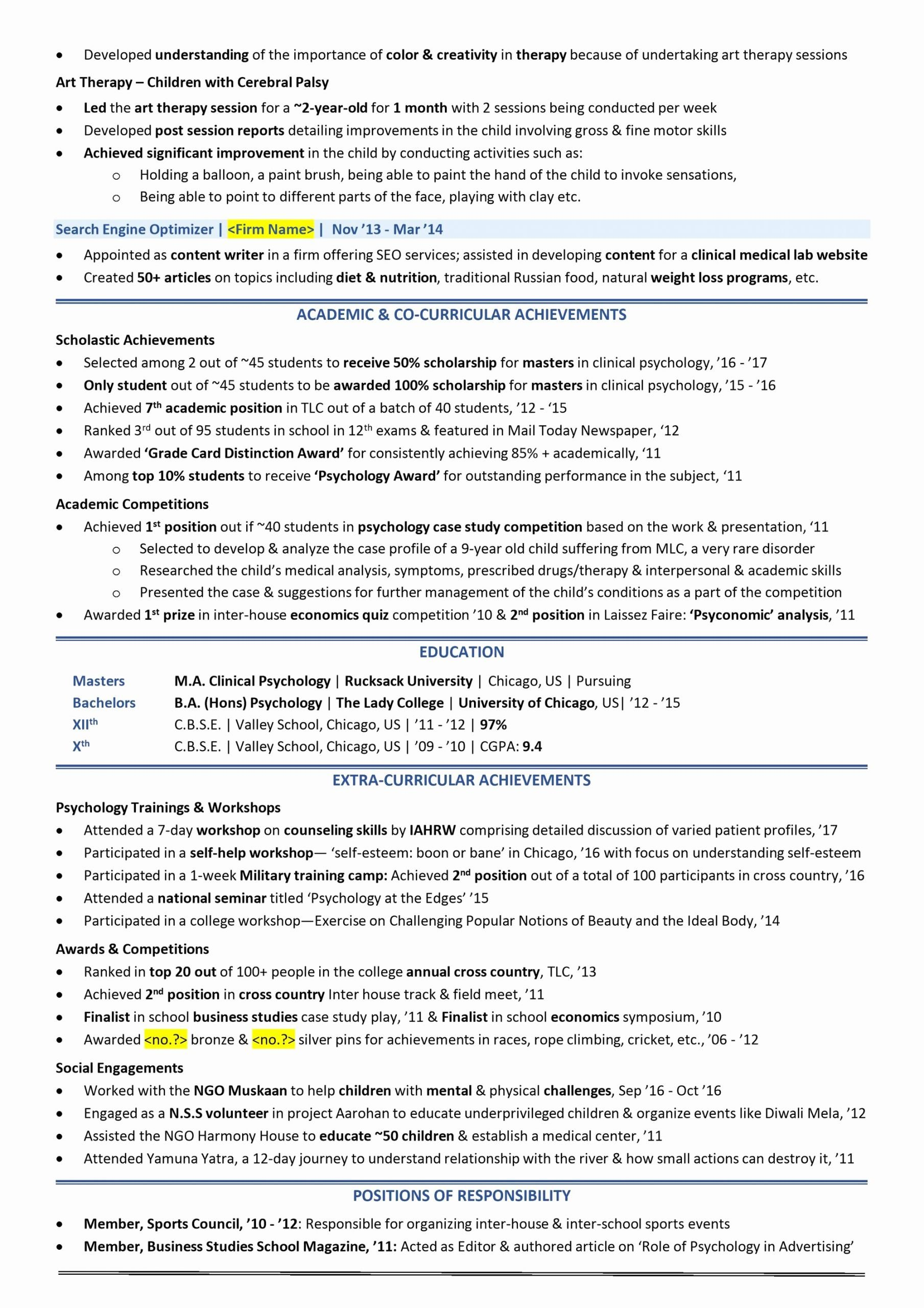 Graduated with Honors Resume New Scholarship Resume [2019 Guide with Scholarship Examples