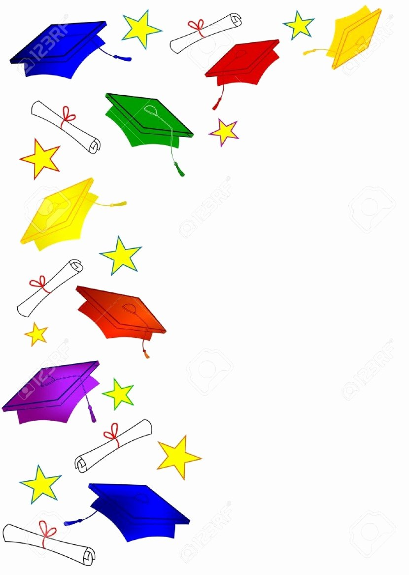 Graduation Borders and Backgrounds Awesome Best Graduation Border Clipartion