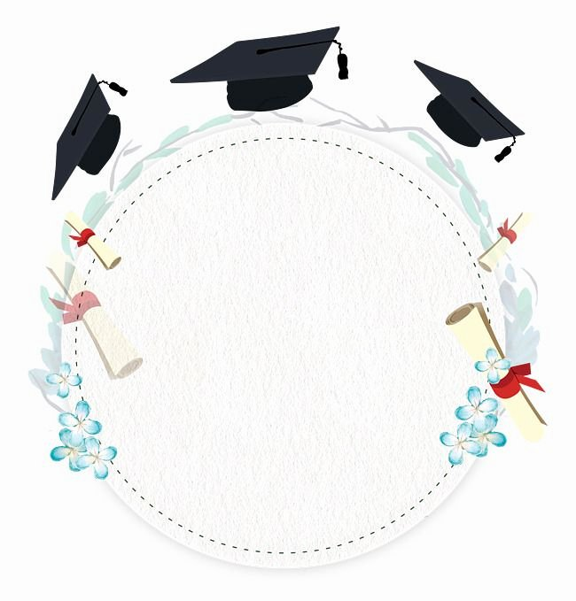 Graduation Borders and Backgrounds Elegant Pin by Shahad Fa On Journal