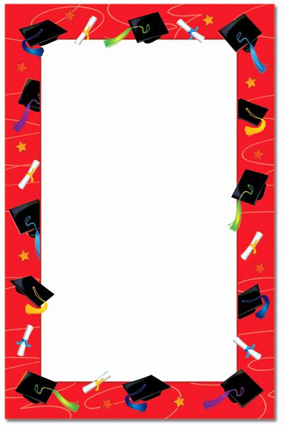 Graduation Borders and Backgrounds Inspirational Graduation Border Clipart Best