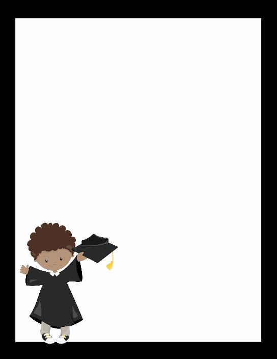Graduation Borders and Backgrounds Unique Free Graduation Templates 12 Graduation Printables Cards