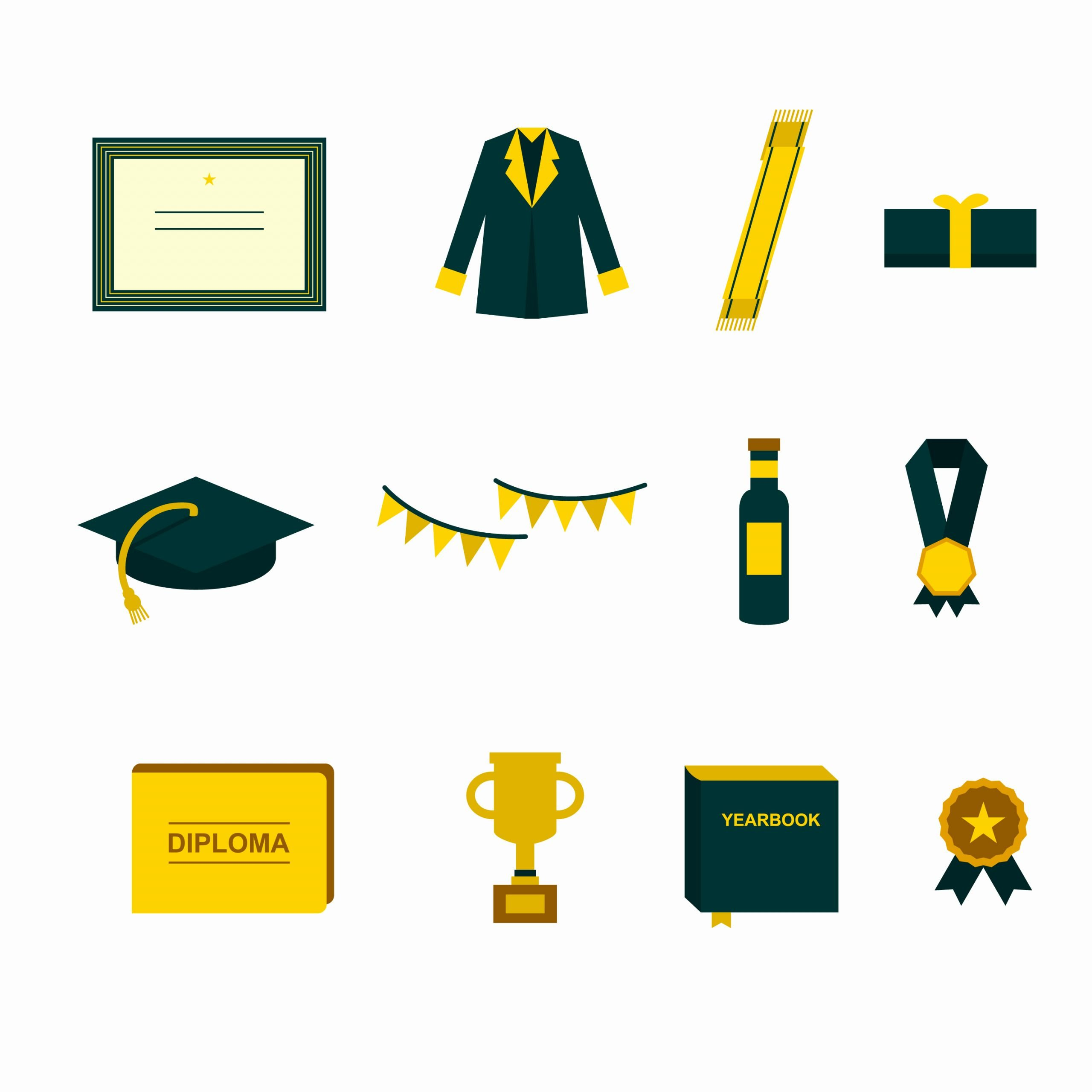 Graduation Borders and Backgrounds Unique Graduation Border Free Vector Art 7755 Free Downloads