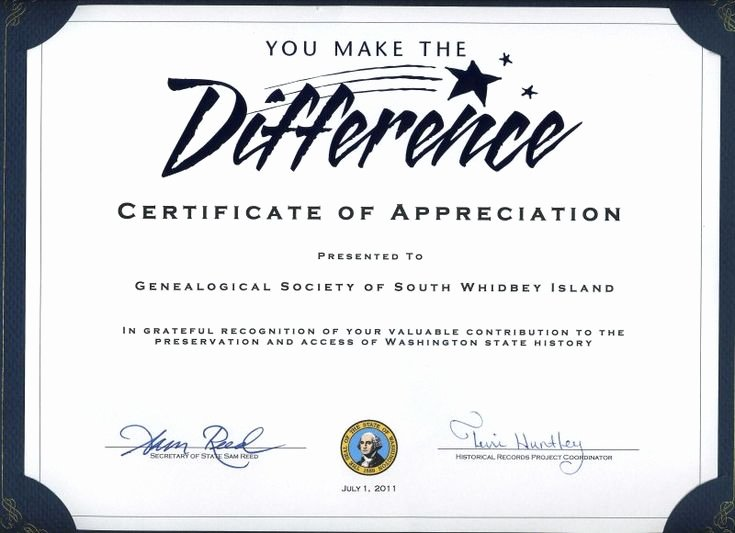Graduation Certificate Of Appreciation Awesome Thank You Certificates for Volunteers