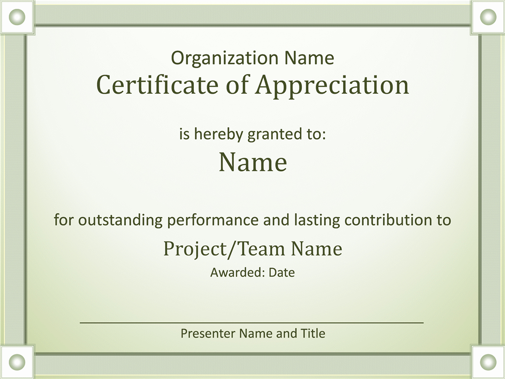 Graduation Certificate Of Appreciation Elegant Certificates Fice