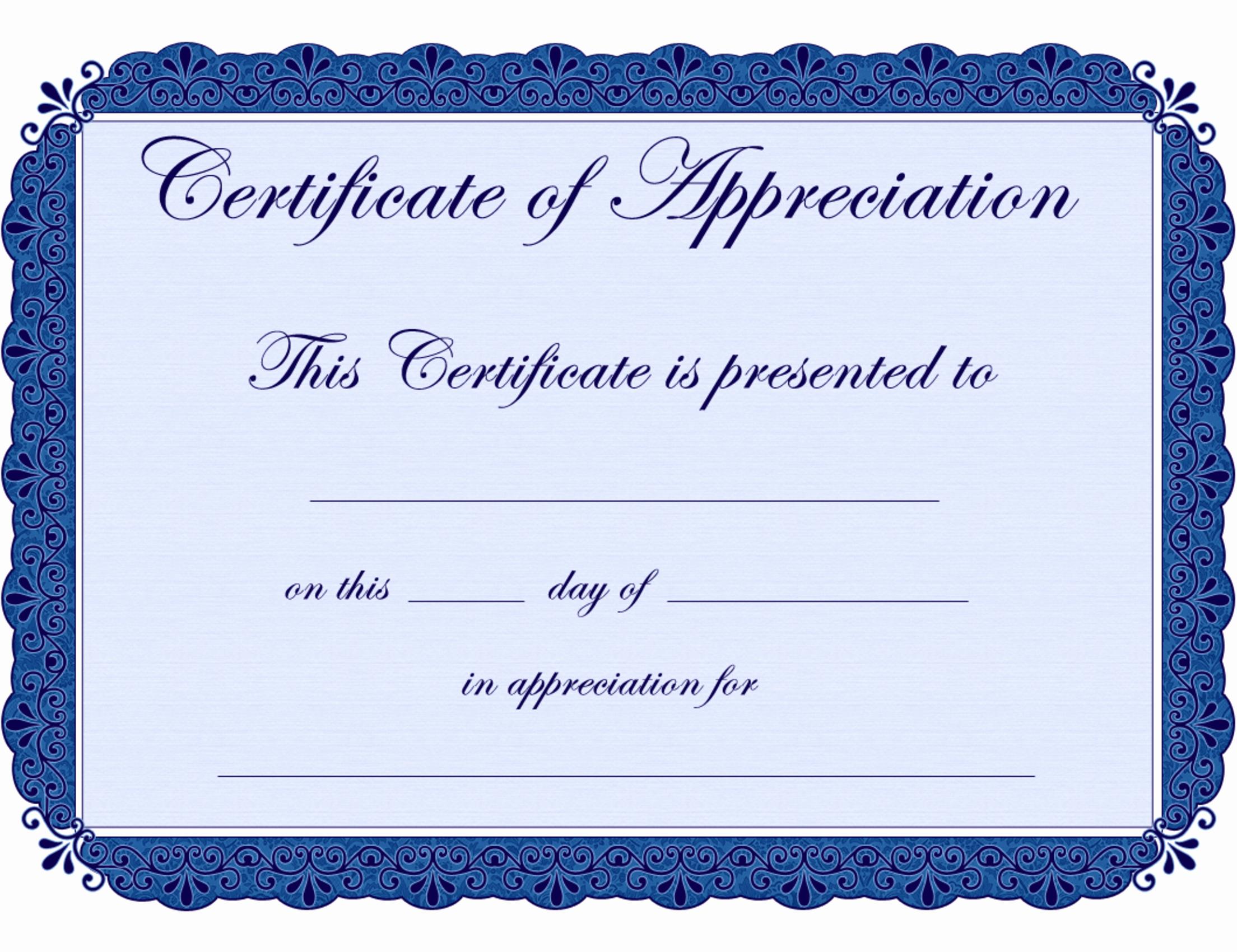 Graduation Certificate Of Appreciation Lovely Free Printable Certificates Certificate Of Appreciation