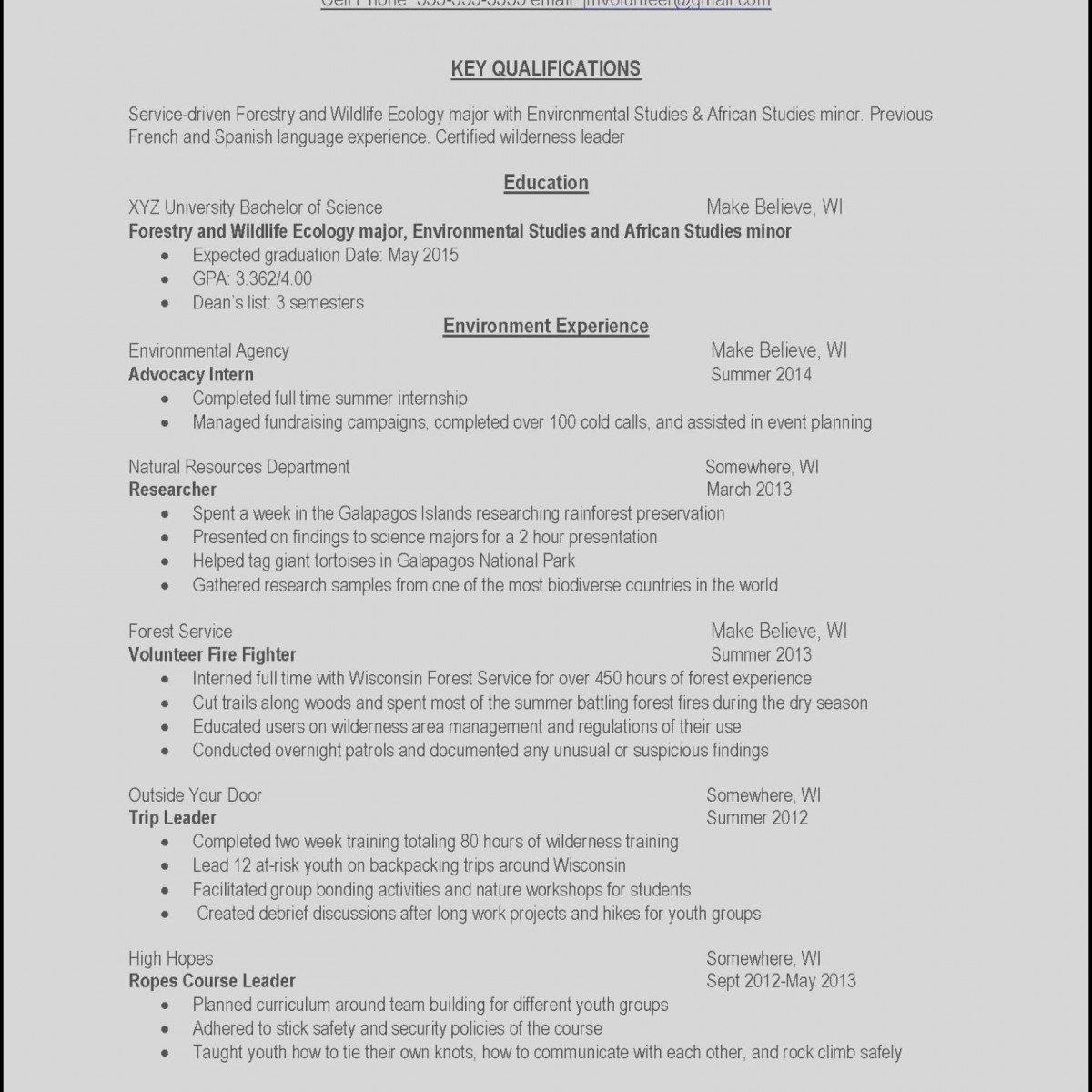 Graduation Date On Resume Fresh Resume Expected Graduation Date