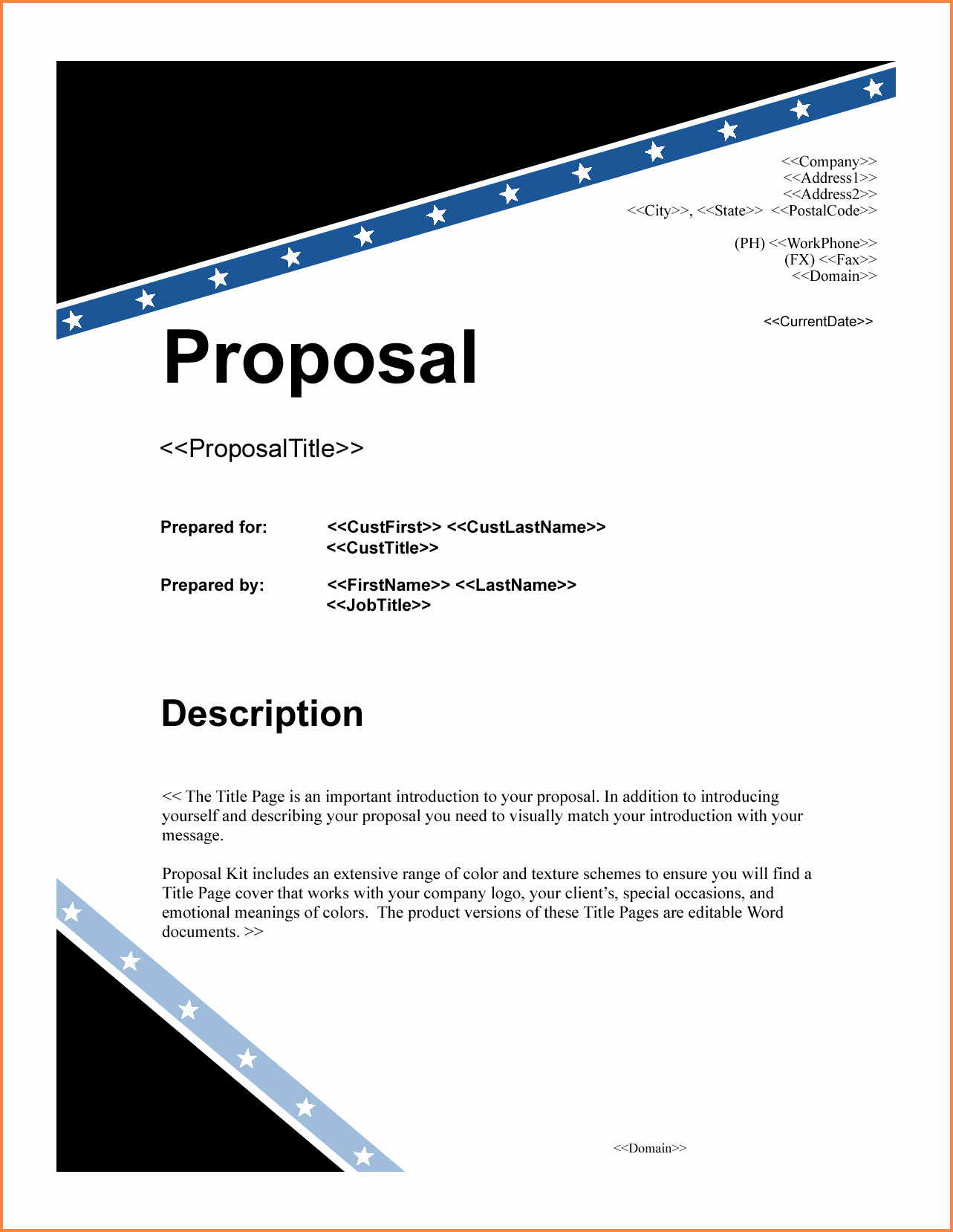 Grant Cover Page Fresh 6 Project Proposal Title Page