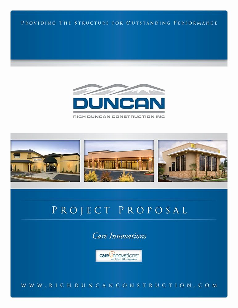 Grant Cover Page New Duncan Construction Designpoint Inc