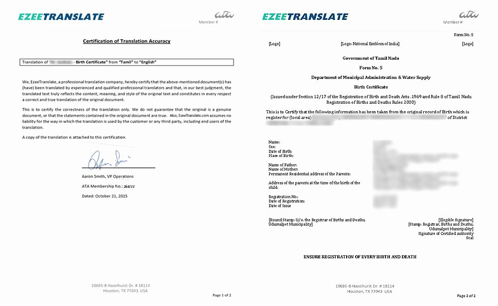 Guatemala Birth Certificate Translation Template New 25 Of Cuban Divorce Certificate Translation