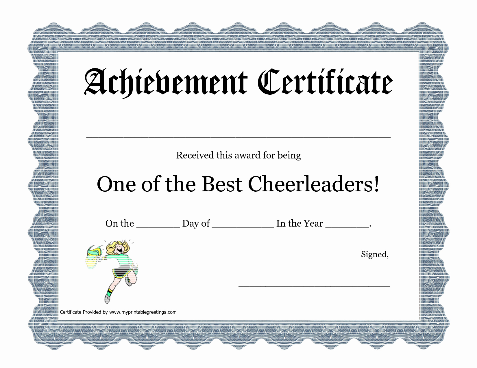 Gymnastics Gift Certificate Template Luxury Free Cheerleading Printables