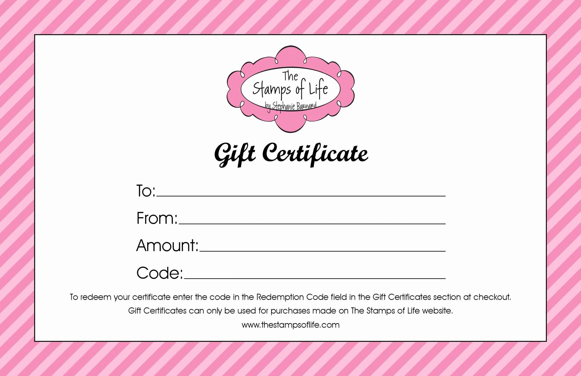 Hair Salon Gift Certificate Template Free Elegant Hair Salon Gift Certificate Template