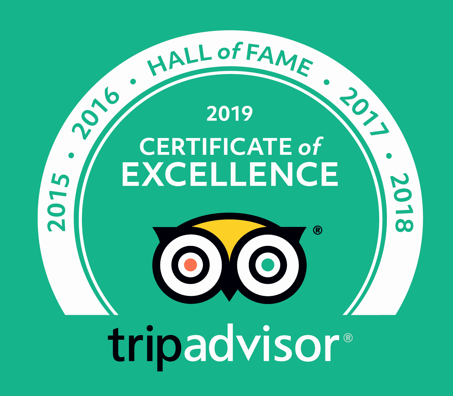 Hall Of Fame Certificate Awesome Trip Advisor Hall Of Fame 2019 the Cranleigh Boutique Hotel