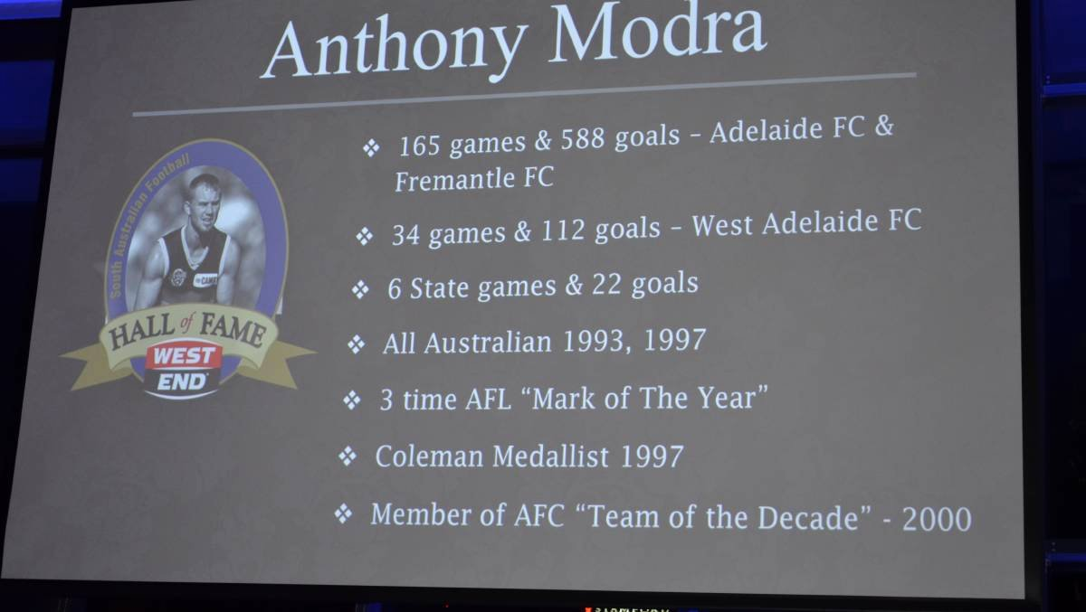 Hall Of Fame Certificate Best Of Victor Harbor S tony Modra In Football Hall Of Fame