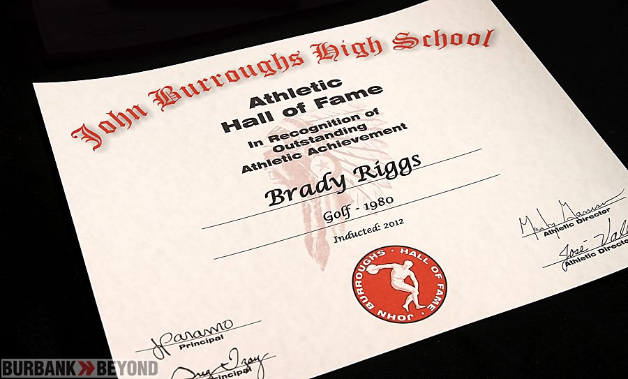 Hall Of Fame Certificate Inspirational Jbhs Hall Of Fame 1 Myburbank