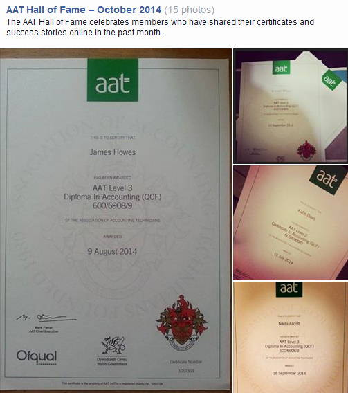 Hall Of Fame Certificate New Aat Hall Of Fame – October 2014 — Aat Discussion forums