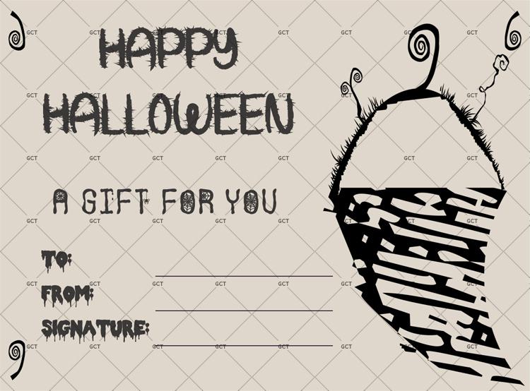 Halloween Gift Certificate Template Best Of Halloween Gift Certificate Pdf Doc Gct