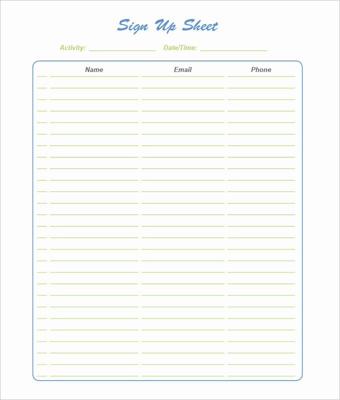 Halloween Potluck Signup Sheet Template Inspirational Halloween Sign Up Sheet Templates – Festival Collections