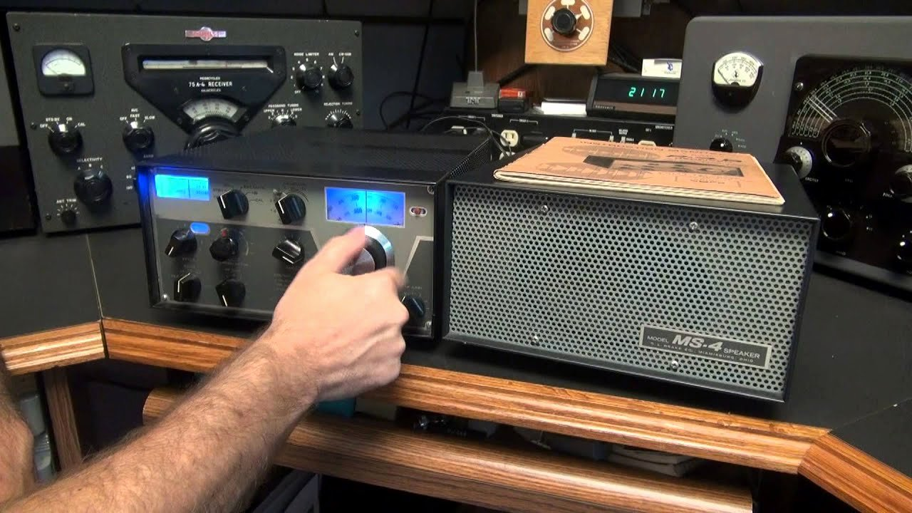 Ham Radio Certificate Maker Elegant Drake R 4b Tube Ham Radio Band Receiver Demo Am Ssb Cw