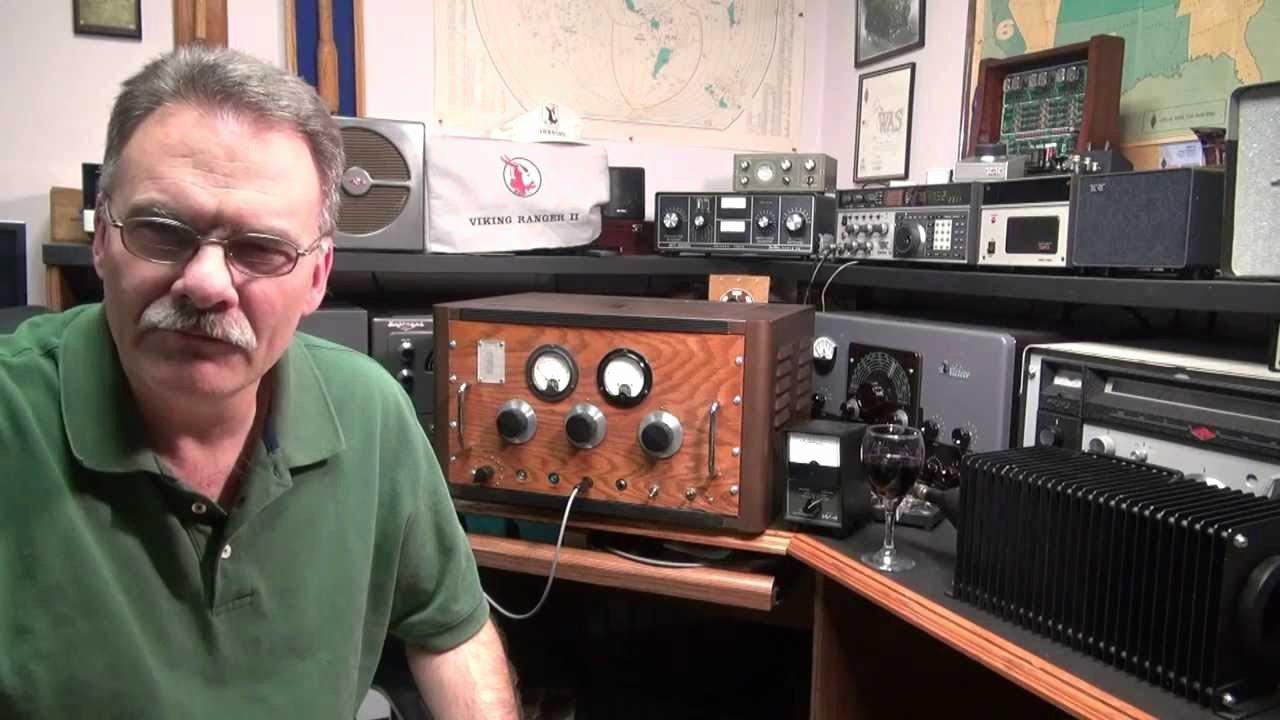 Ham Radio Certificate Maker Luxury Vintage Homebrew Cw 807 Tube Transmitter Ham Radio Cw