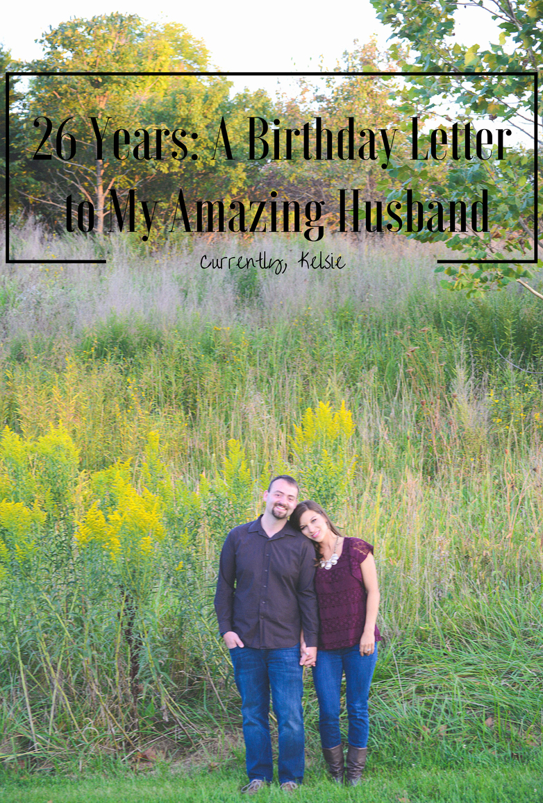 Happy Birthday to My Husband Letter Unique 26 Years A Birthday Letter to My Amazing Husband