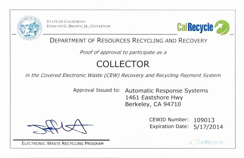Hard Drive Destruction Certificate Template New Certificate Destruction Templates 10 Free Pdf format