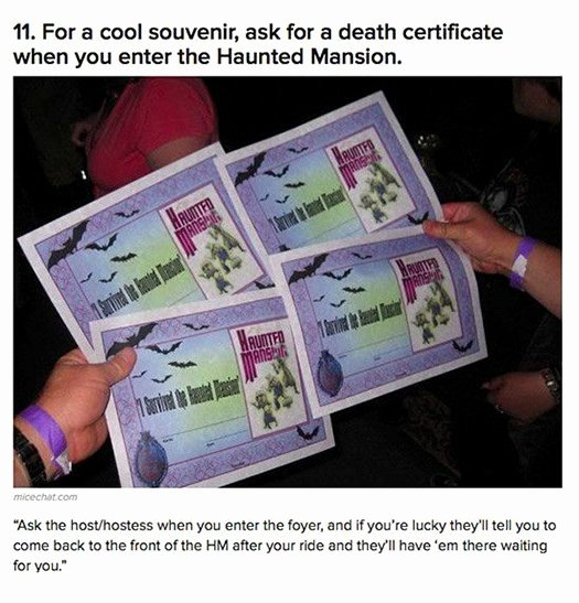 Haunted Mansion Death Certificate Template Inspirational 16 Awesome Hidden Gems You Should Experience when You Go