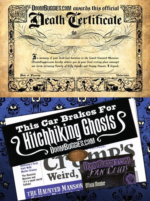 Haunted Mansion Death Certificate Template Inspirational the Haunted Mansion Death Certificate Pdf is Free to